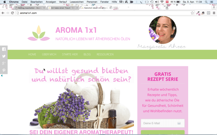 AROMA1x1 Startseite