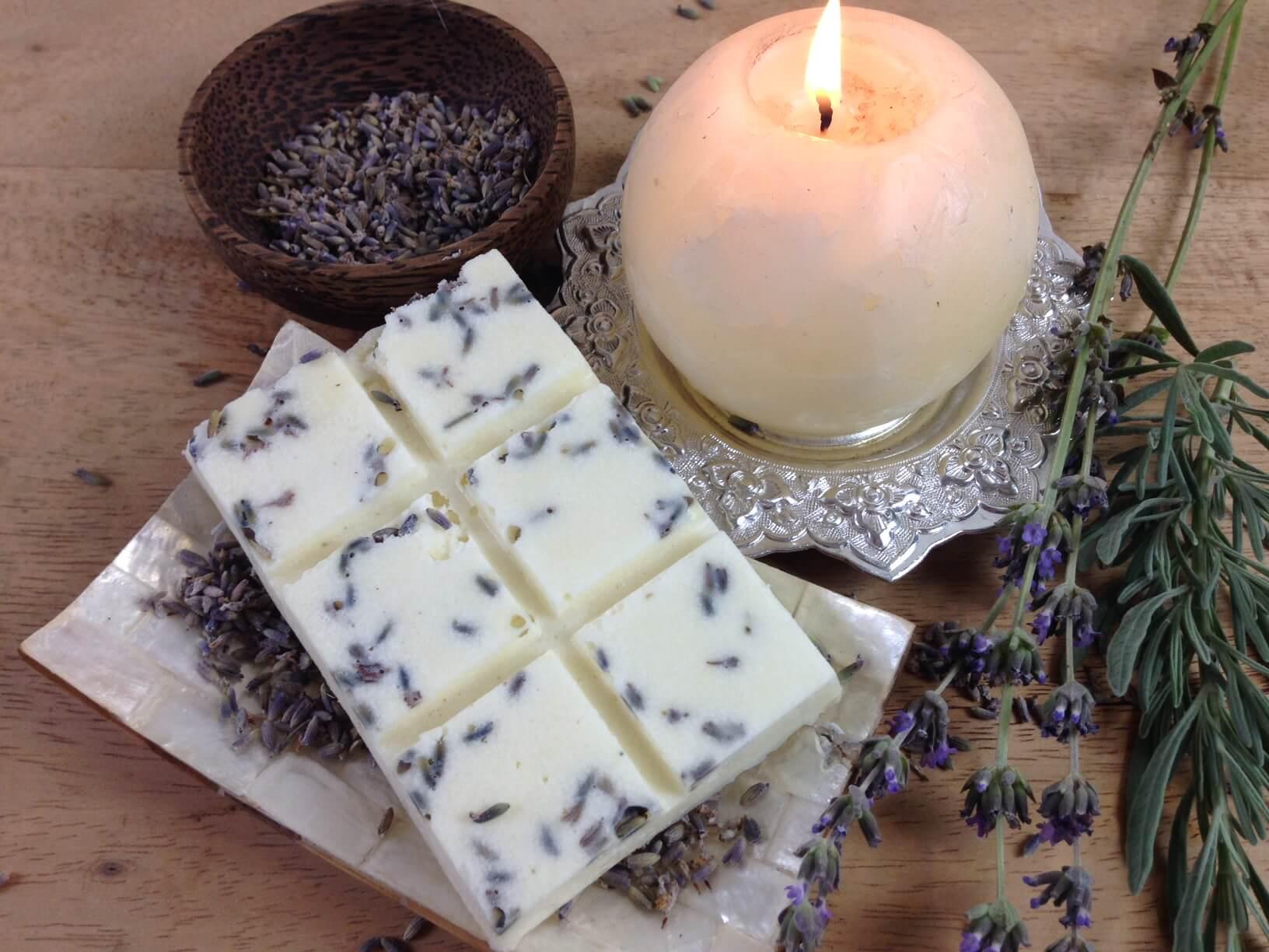 Lavendel Badeschokolade