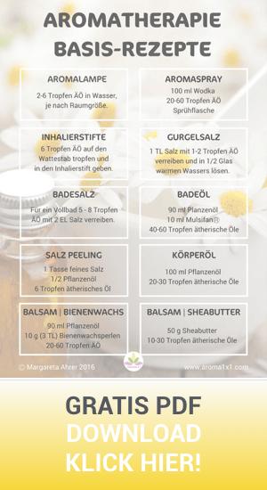 Aromatherapie Basisrezepte