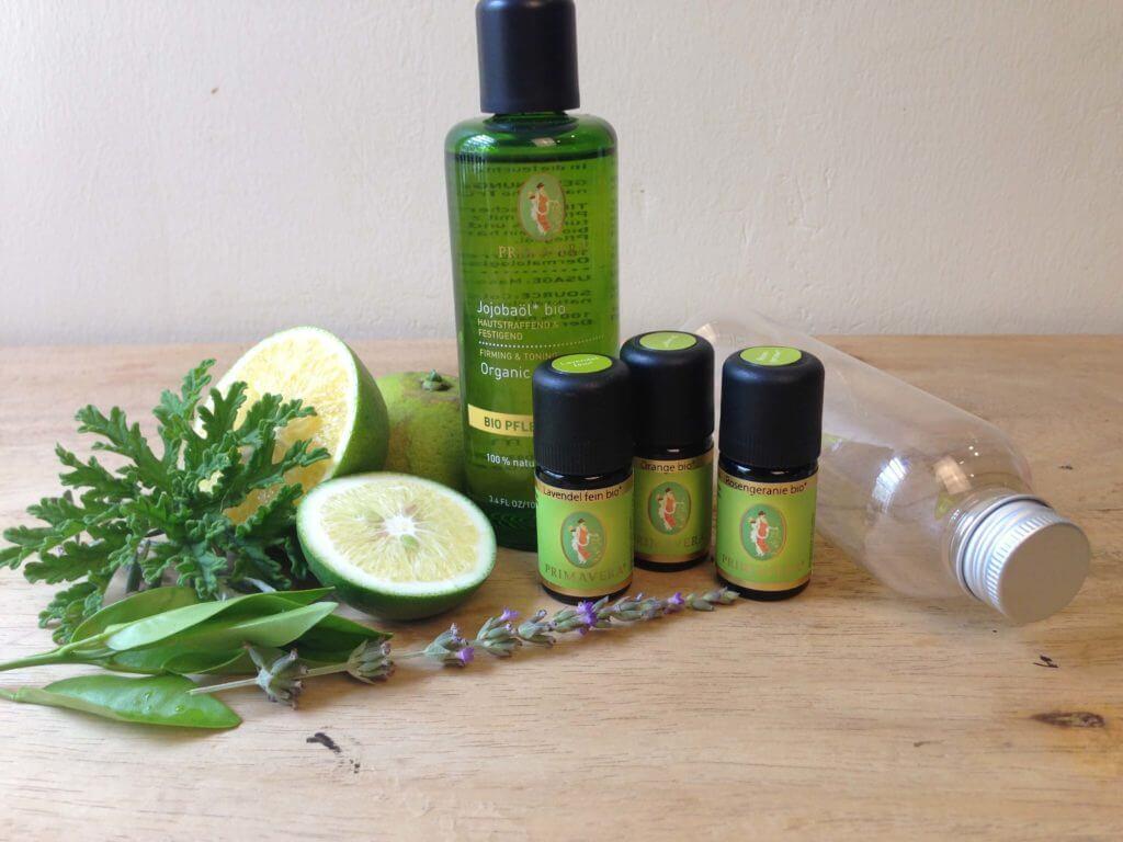 Massageöl selbermachen