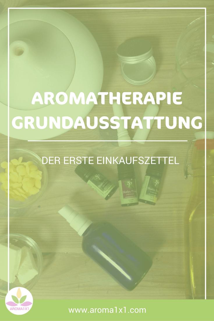 Aromatherapie Grundausstattung