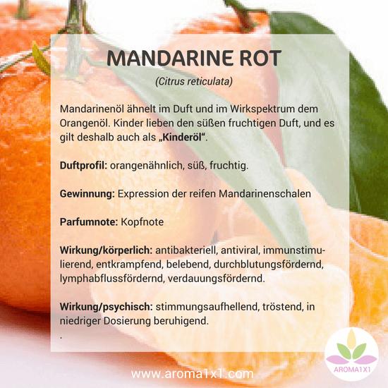 Mandarinenöl Wirkung