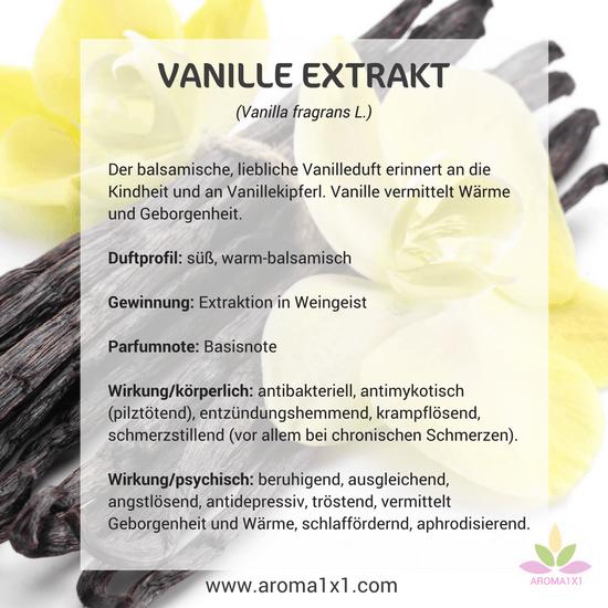 Vanille Extrakt Wirkung