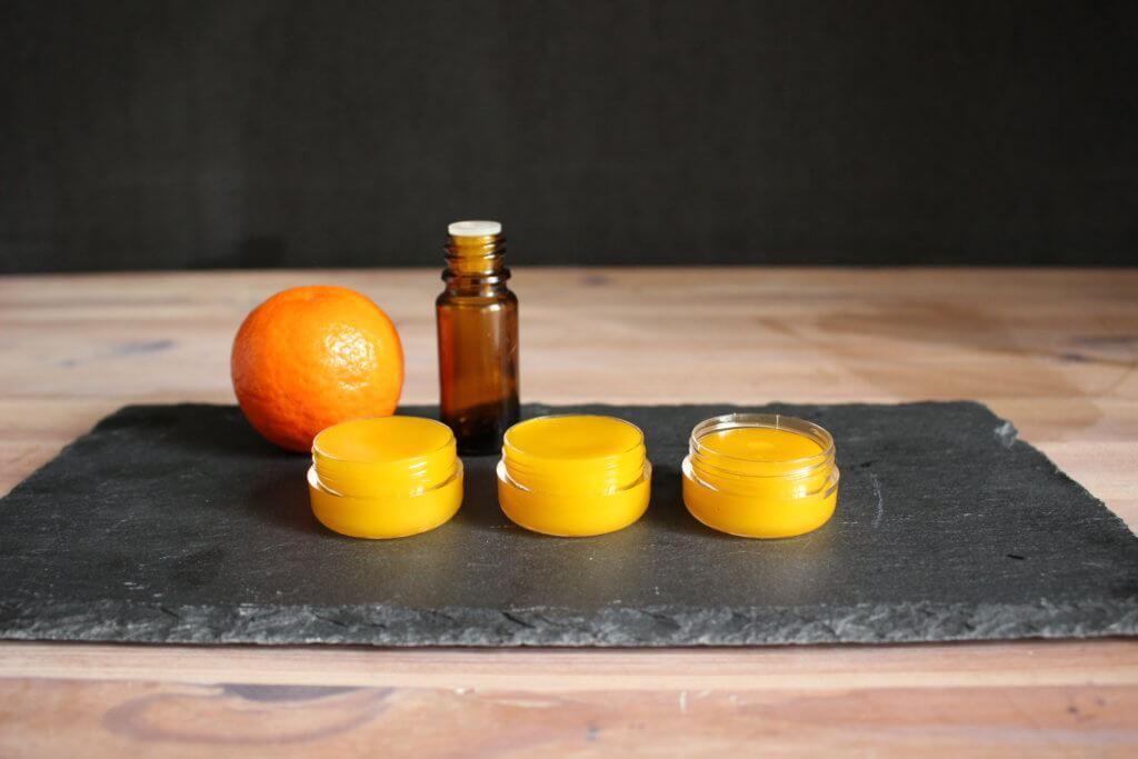 Mandarinen Lippenbalsam selbermachen