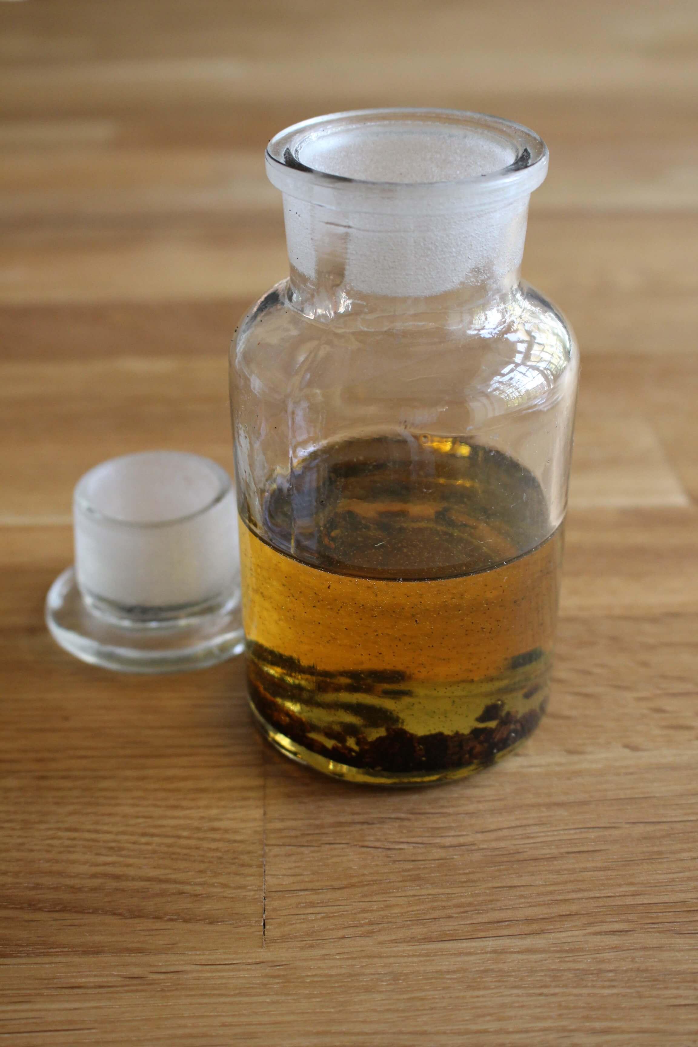 Vanille-Körperöl