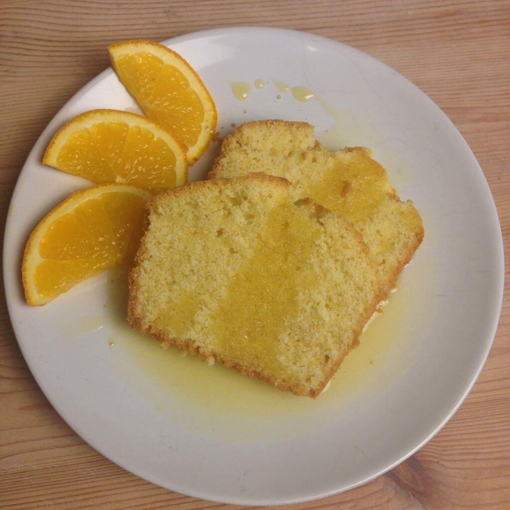 Orangen Griess Kuchen